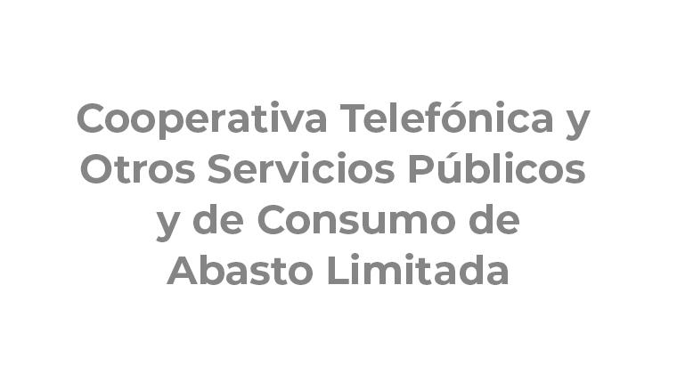 Cooperativa Telefónica y Otros Servicios Públicos y de Consumo de Abasto Limitada
