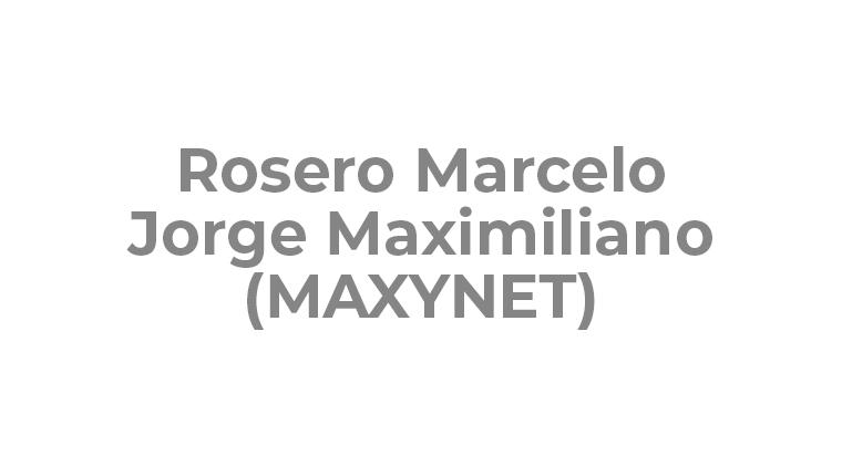 Rosero Marcelo Jorge Maximiliano (MAXYNET)