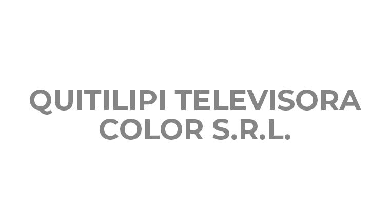 QUITILIPI TELEVISORA COLOR S.R.L.