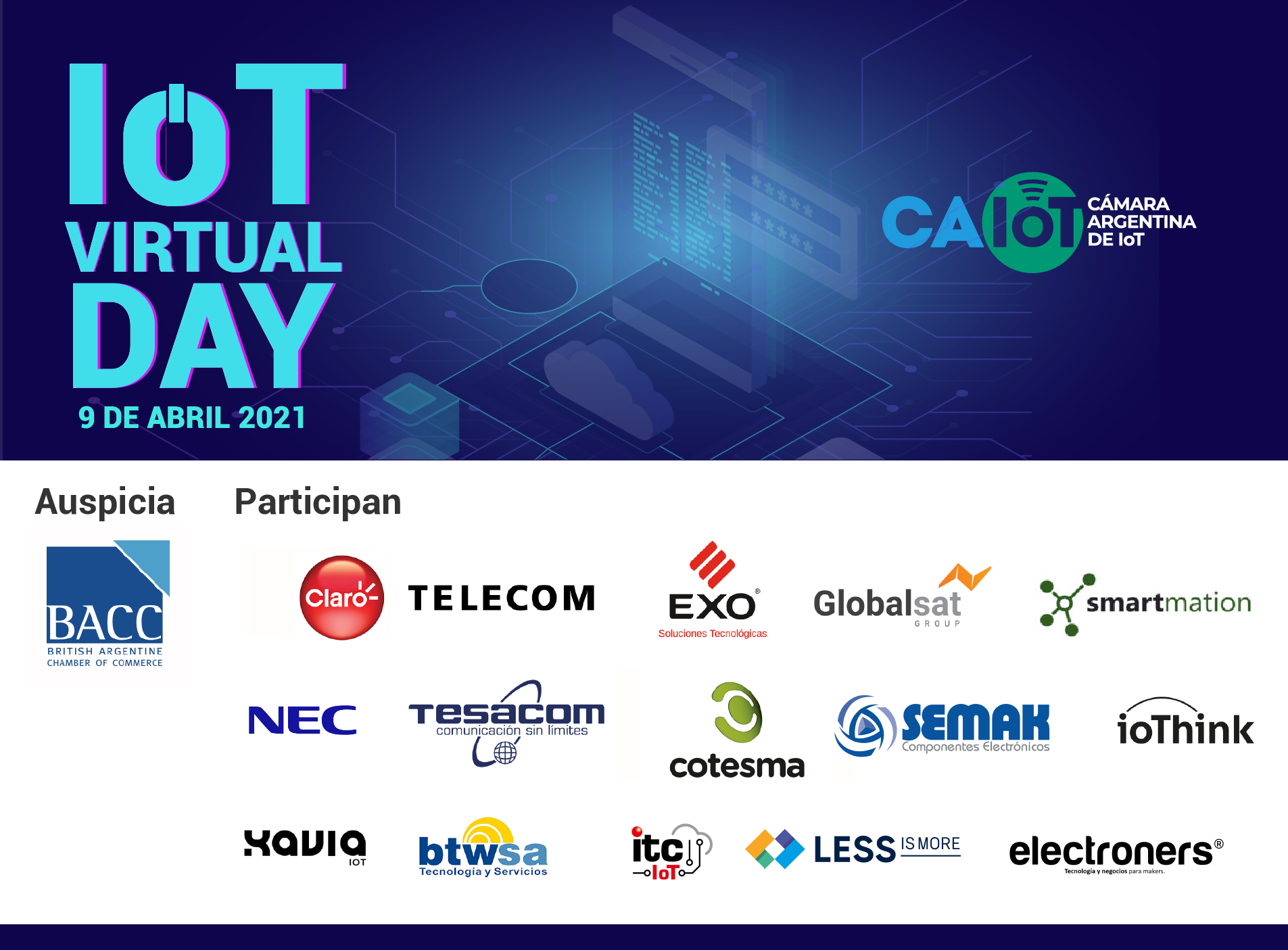 Gran éxito del IoT Virtual Day 2021