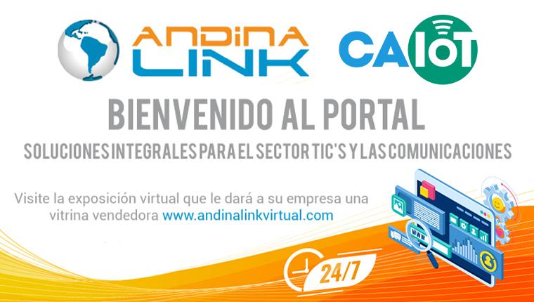 Alianza con la empresa Andina Link de Colombia
